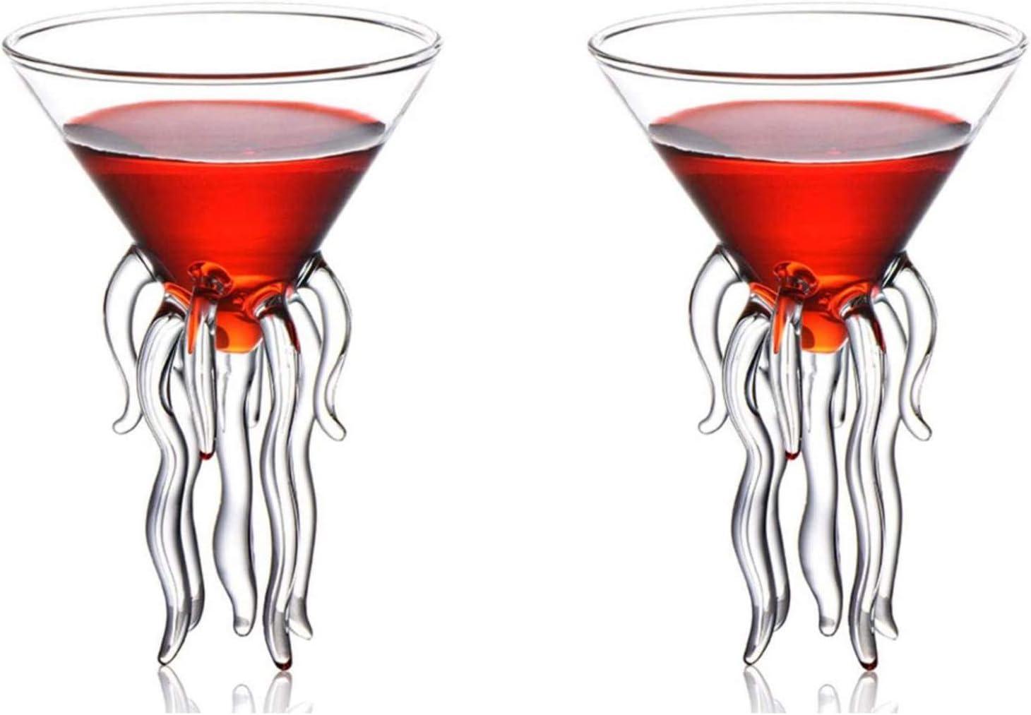 Ranking TOP1 Octopus Jellyfish Martini Glass Wine latest Sty Cthulhu