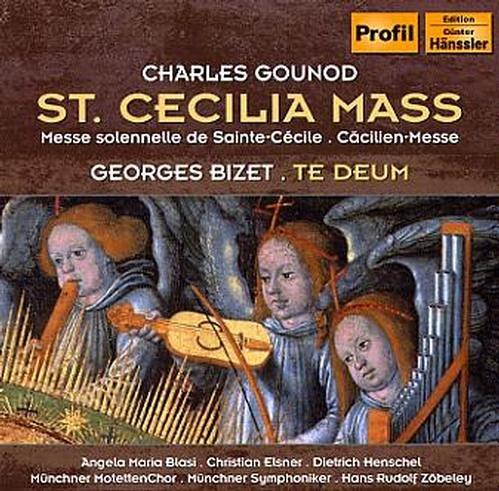 GOUNOD/BIZET:Cäcilien-Messe/Te