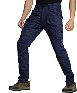 slim fit workwear trousers