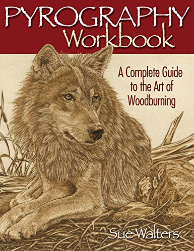Pyrography Workbook: A Complete Guide to the Art of Woodburning (Fox Chapel Publishing) Step-by-Step...