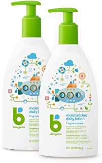 Sponsored Ad - Babyganics Daily Lotion, Fragrance Free, 17oz, 2 Pack, Packaging May Vary