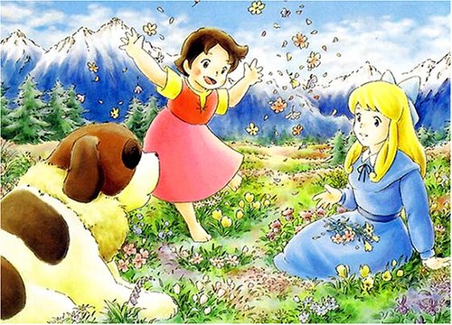 Girl of the Alps Heidi Spring is Here Jigsaw Puzzle 500pcs (38 x 53cm) JAPAN Import by KEZUKA