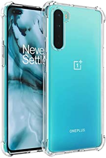 Oneplus Nord 5G Case,Oneplus Nord Case Clear Transparent Reinforced Corners TPU Shock-Absorption Flexible Cell Phone Cover...