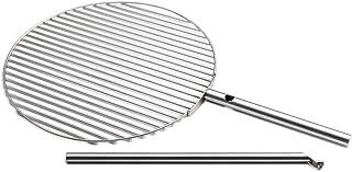 höfats - TRIPLE Grillrost 55 - verwandelt TRIPLE Feuerschale in einen Grill - höhenverstellbar und schwenkbar - Edelstahl - rund - Zubehör für TRIPLE Feuerschale