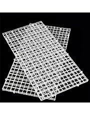 HMOCNV Bandeja divisora transparente de color blanco para acuario, filtro inferior (transparente)