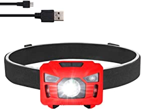USB Headlamp Flashlight,LED Rechargeale Waterproof...