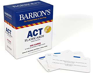 ACT Flashcards (Barron's Test Prep)