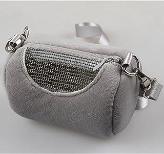ETbotu Portable Pet Hamster Cylinder Bag Carrier Comfortable Travel Bags Should Bag for Flying Squirrel Small Animals