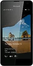 Microsoft Lumia 550 RM-1127 8GB (GSM Only, No CDMA) Factory Unlocked 4G/LTE - International Version No Warranty (Black)