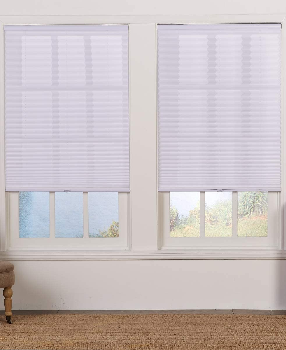 Safe 4 years warranty Styles UBD61X72WT Cordless Over item handling Light Filtering Shade44; Pleated