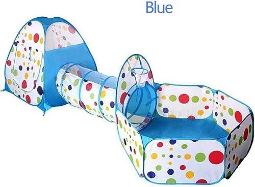 XBR Tente Enfant Intérieur, Tente Tunnel Enfants Pliable Tente de Jeu pour Enfants avec Jouer Tente Sac Indoor de plein air pour Les Garçons Les Filles Tout-Petits
