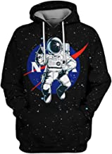 CWSY Unisex 3D Personalised Sweatshirt Pullover Hooded Stretch Hoodie XS-7XL