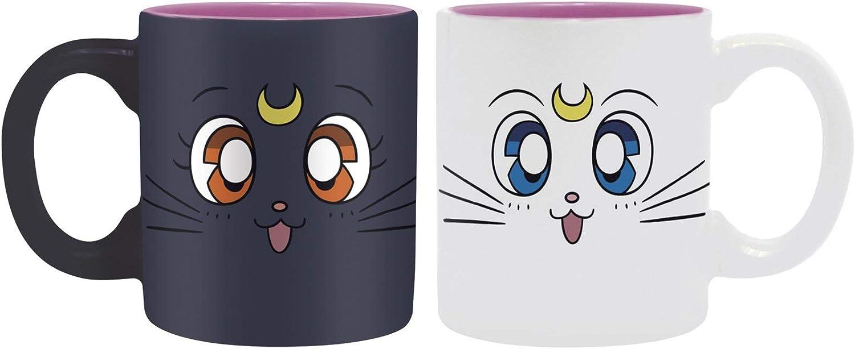 ABYstyle Sailor Moon Set de 2 tasses Artemis /& Luna