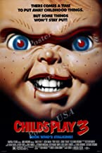Posters USA Child's Play 3 Chucky GLOSSY FINISH Movie Poster - FIL831 (24