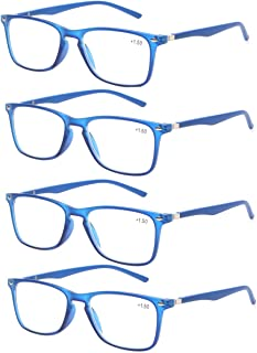 Reading Glasses Women Men Colorful Trendy Readers Glasses with Strong Spring Hinge gafas