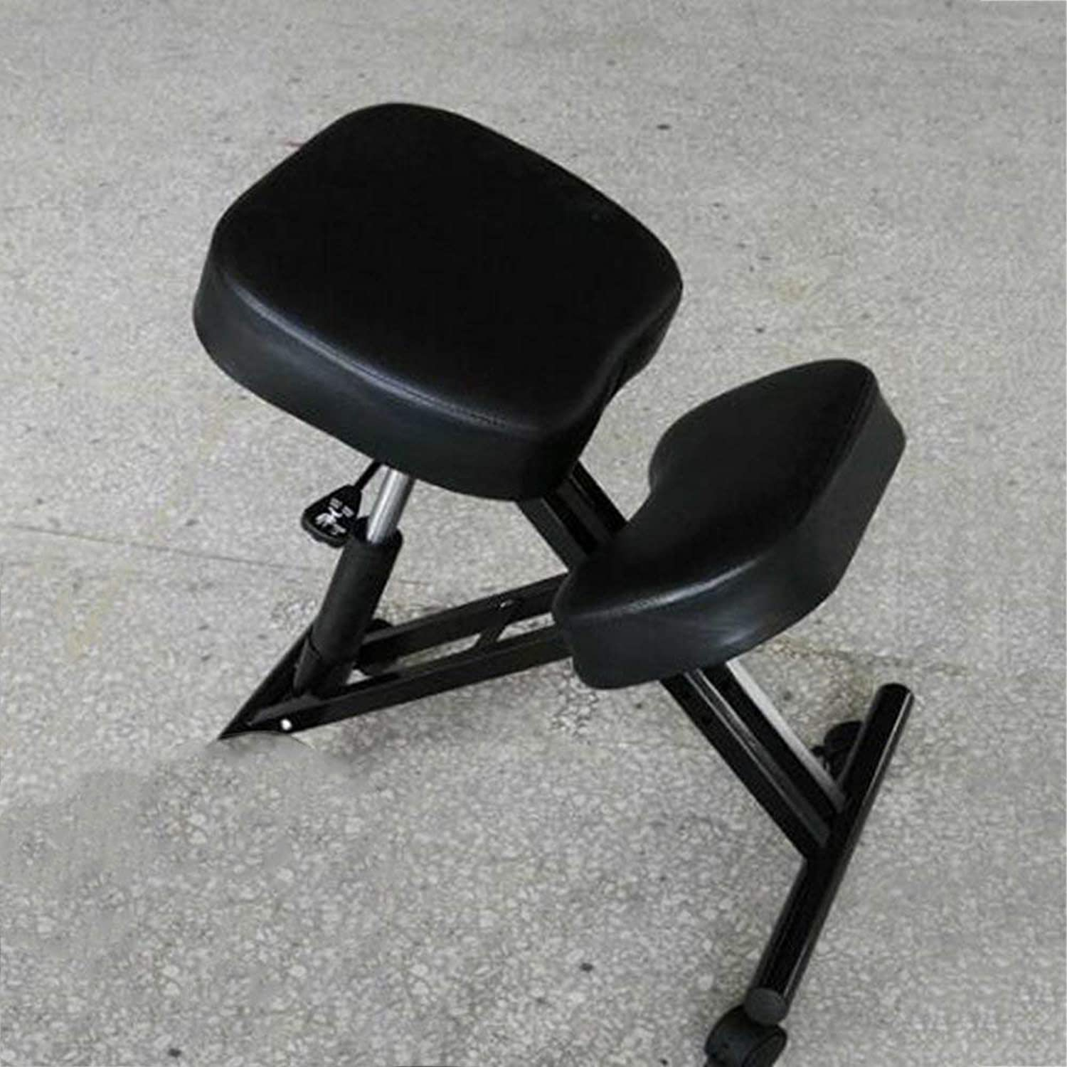 QTQZ Brisk-Sitting Position Orthopedic Chair The Brain Chair Anti-Hump Ergonomics (color  Blakc)