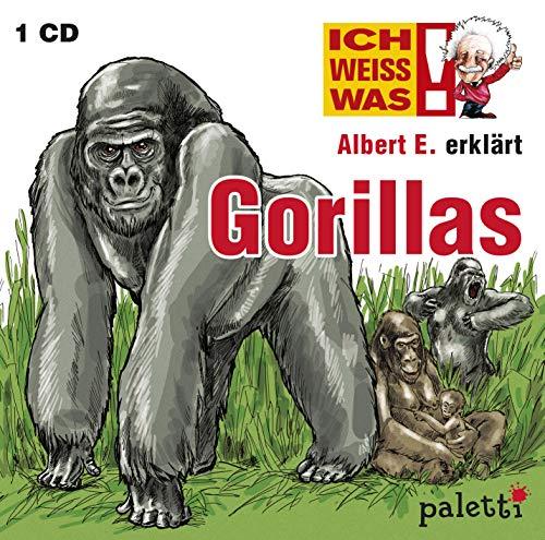 Ich weiss was! Albert E. erklärt Gorillas Kinder Wissens CD Hörbuch