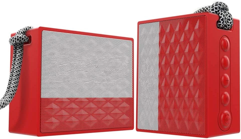 QK El Discount mail order Paso Mall Portable Bluetooth Speakers Small TWS Wireless Stereo True