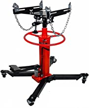 CHIEN RONG 1660lbs Transmission Jack 2 Stage Hydraulic w/ 360° for car Lift auto Lift