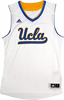 adidas UCLA Bruins NCAA White Authentic On-Court Pro Cut March Madness Home Jersey for Men