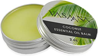 Vasaana Natural Coconut Soothing Balm and Salve, 2 oz (50 g)