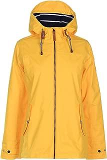 Gelert Womens Coast Waterproof Jacket Coat Top High Neck Hooded Zip