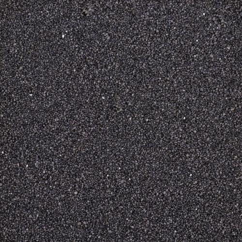 Dekosand / Farbsand (0,1 - 0,5 mm), 1 kg, schwarz