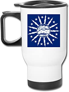 Custom Flag Of Buffalo,New York Handy Travel Mugs Gift By Katiydry