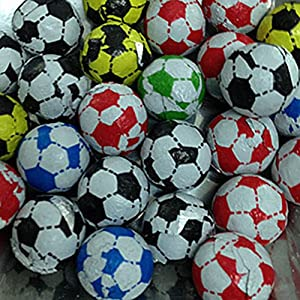 chocolate footballs (250g) from lovisweets Chocolate Footballs (250g) from LoviSweets 61E2Z7dnVUL