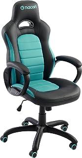 Nacon Gaming-stol, konstläder, svart och blå, 78,5 x 32,5 x 66 cm