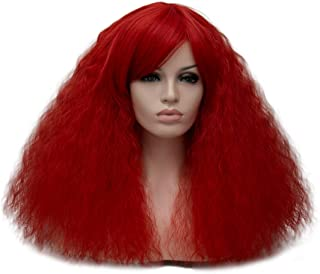 Best frizzy red wig Reviews