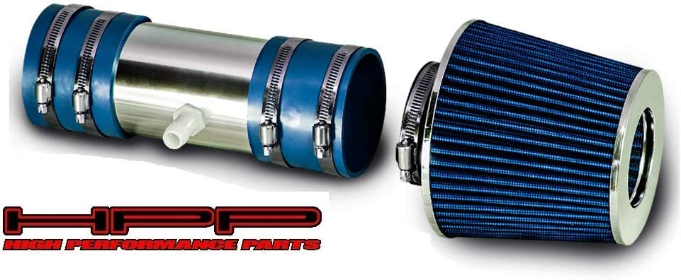 High Performance 贈与 Parts Short Ram Air Intake Co Filter Kit Blue 直営限定アウトレット