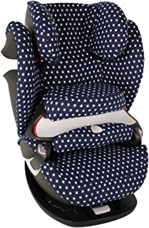 Bebe Confort Titan Pro Accessoire Enfant Indispensable pour plus de Confort Coton Oeko-Tex Certifi/é Noir Pois blancs Housse Siege Auto Bebe Pour Coque Maxi Cosi