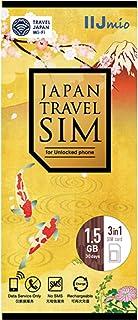 IIJ Japan Travel SIM for unlocked phone 1.5GB(nano/micro/標準SIMマルチ対応) IM-B256