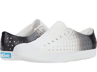 Native Shoes Jefferson Ombre (Shell White/Shell White/Glow Black) Athletic Shoes