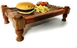 Serving Tray | Serving Bowl | Home Gift | Desi Khaat Platter Wooden