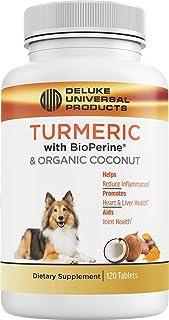 Deluke Universal Products Turmeric Curcumin with BioPerine & Organic Coconut