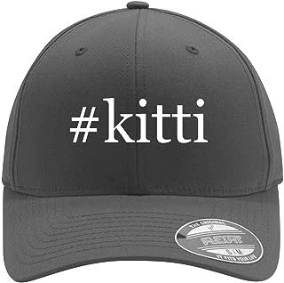 #Kitti - Adult Men's Hashtag Flexfit Baseball Hat Cap