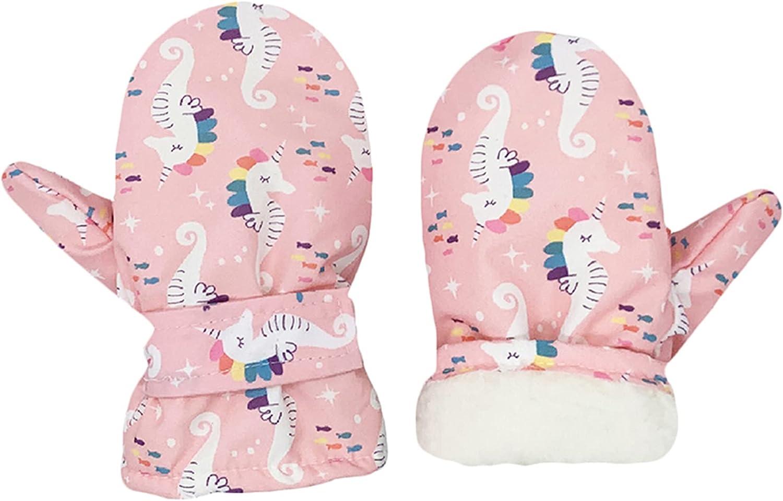 Lined Fleece Toddler Mittens Kids Winter G Warm Child Over Max 89% OFF item handling Ski Gloves