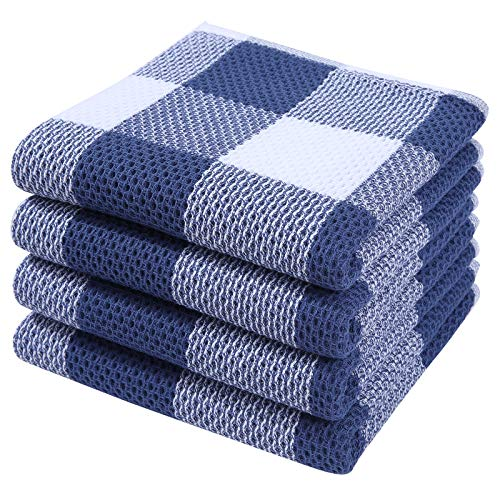 Top 10 Best Selling List for blue and white kitchen towels