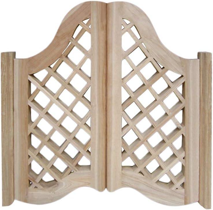 Swinging Industry No. 1 Cafe Doors Solid Wood Bar Indoor Fence Gate Door Decor Long-awaited