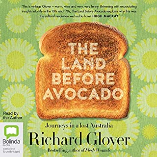The Land Before Avocado audiobook cover art