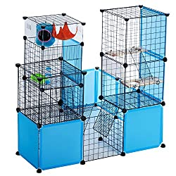 Modular Add-Up Small Animal Cages Series