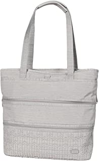 Lug Women's Taxi Everyday Tote, Heather Grey Travel