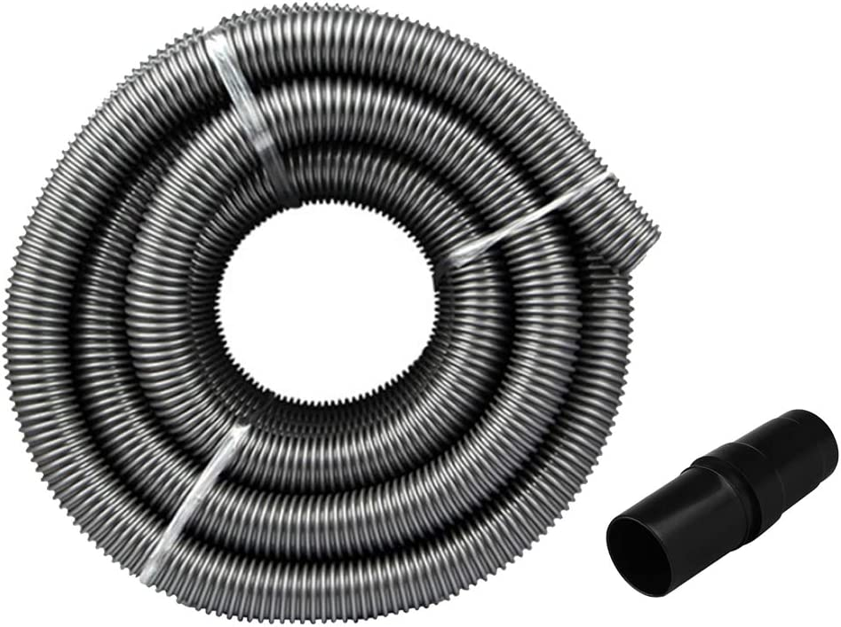 FLAMEER 2m Ranking TOP20 Black Plastic Vacuum Cleaner Special price with Tube Adapter D Hose