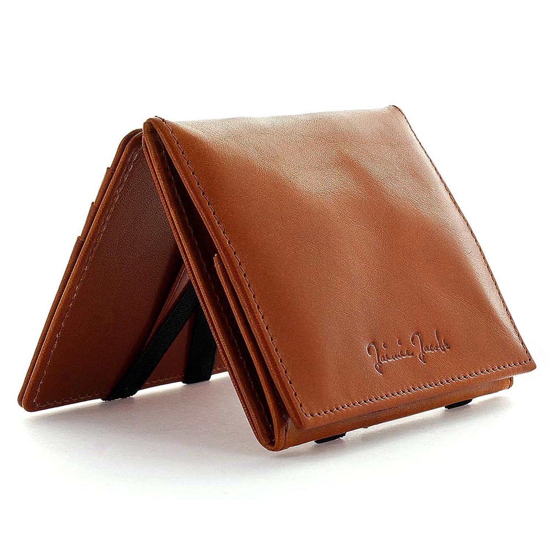 【Jaimie Jacobs】魔法の財布 FLAP BOY [ギフトボックス付き] (マネークリップ 小銭入れ付き カードケース スキミング防止)