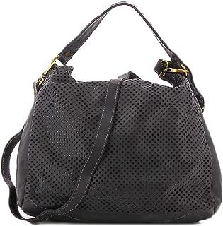 Civico 93 black perforated bag