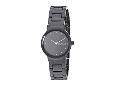 Skagen Freja Two-Hand Watch (SKW2830 Black Stainless Steel) Watches