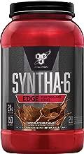 BSN SYNTHA-6 Edge Protein Powder, with Hydrolyzed Whey, Micellar Casein, Milk Protein Isolate, Low Sugar, 24g Protein, Chocolate Milkshake, 28 Servings