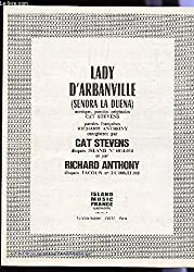 LADY D\'ARBANVILLE (SENORA LA DUENA) - PARTITION : MUSIQUE ET PAROLES.